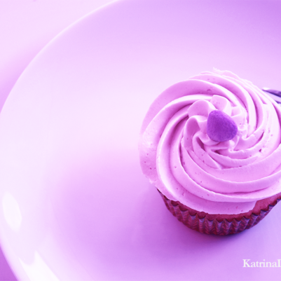 Cupcake to represent desire
